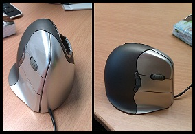Pourquoi j'utilise une souris ergonomique